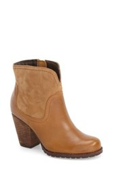 Eastland 'Jezebel' Western Bootie Women Brown