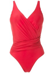 Lygia And Nanny Maillot Maisa Liso Red