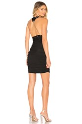 By The Way Lara Chain Back Dress Black