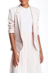 Abs By Allen Schwartz Fitted Blazer Pink