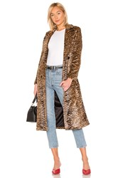 House Of Harlow X Revolve Perry Coat Brown