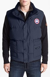 Canada Goose Men's 'Freestyle' Water Resistant Regular Fit Down Vest Navy