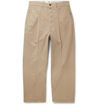 Chimala Cotton Twill Trousers Neutrals
