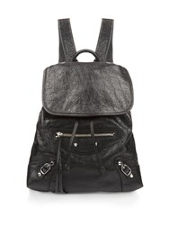 Balenciaga Classic Traveller Leather Backpack
