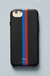 Casetify Clare V. X Oui Leather Iphone Case Black Motif