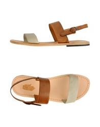 Local Apparel Sandals Tan