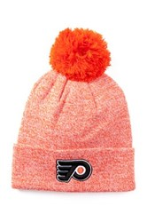 American Needle Philadelphia Flyers Insulation Knit Pompom Beanie Orange