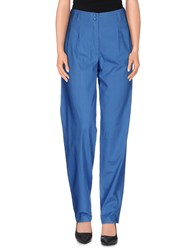 Gestuz Trousers Casual Trousers Women Blue