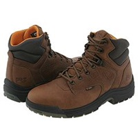 Timberland Titan 6 Soft Toe Coffee Full Grain Leather Men's Work Boots Brown