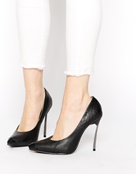 Little Mistress Point Court Shoes Black