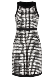 Comma Cocktail Dress Party Dress Grey Black