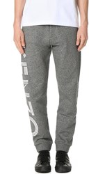 Kenzo Cotton Classic Molleton Sweatpants Anthracite
