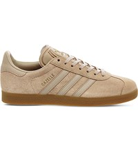 Adidas Gazelle Suede Trainers Clay Brown Gum