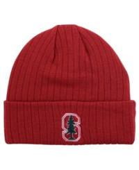 Top Of The World Stanford Cardinal Campus Cuff Knit Hat Brick