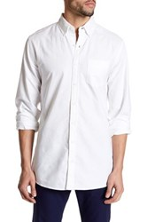 Bonobos Rhodes Washed Oxford Button Down Shirt White