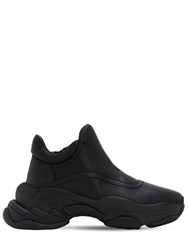 Jeffrey Campbell 40Mm Leather Sneakers Black