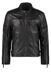 Gipsy Chester Leather Jacket Black