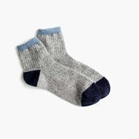 J.Crew Colorblock Ankle Socks
