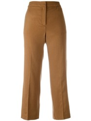 Each X Other Cropped Pants Nude Neutrals