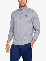 Under Armour Fleece 1 2 Zip Training Top Steel Black