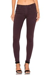 Black Orchid Jude Mid Rise Super Skinny Sinful