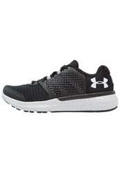Under Armour Micro G Fuel Rn Neutral Running Shoes Black Glacier Grey