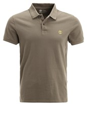 Timberland Slim Fit Polo Shirt Capers Oliv