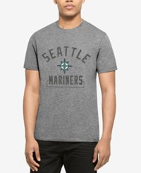 47 Brand '47 Men's Seattle Mariners Mixed Fieldhouse T Shirt Gray
