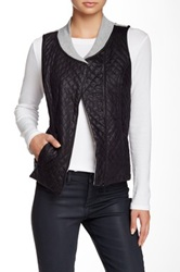 Tart Vegan Leather Aislin Vest Gray