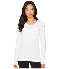 Hot Chillys Mtf Solid Scoop White Women's Clothing