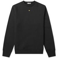 Christian Dior Homme Embroidered Bee Crew Sweat Black