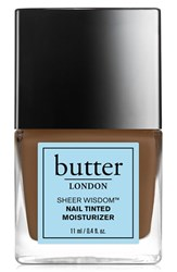 Butter London 'Sheer Wisdom' Nail Tinted Moisturizer Deep