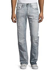 Buffalo David Bitton Faded Distressed Jeans Destroyed