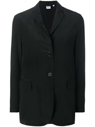 Aspesi Loose Fit Blazer Black