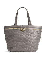 Dolce Vita Quilted Tote Bag Grey