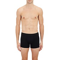 Zimmerli Men's Pureness Boxer Briefs Black Blue Black Blue