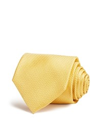 The Men's Store At Bloomingdale's Tonal Micro Pattern Classic Tie Yellow