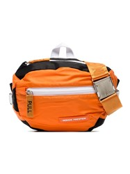 Heron Preston Orange Padded Fabric Belt Bag Yellow And Orange