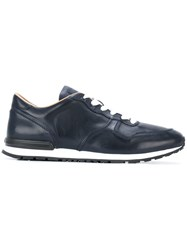 Tod's Panelled Sneakers Blue