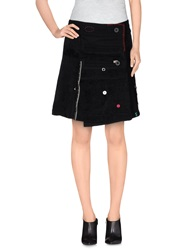 Desigual Mini Skirts Black