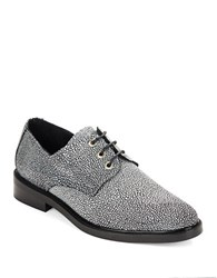 Miista Adelaide Metallic Oxfords Grey