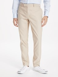 J. Lindeberg J.Lindeberg Slim Fit Plain Ramon Trousers Tan