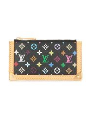 Louis Vuitton Vintage Pochette Cles Coin Case Black