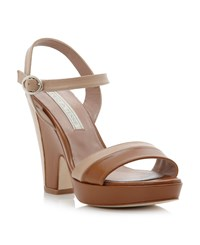 Pied A Terre Latonia Ankle Tie Sandals Blonde