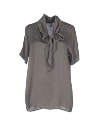Mason's Shirts Blouses Women Grey