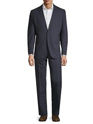 Kenneth Cole Tonal Plaid Wool Suit