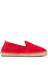 Manebi Hampton Espadrilles Red