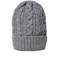 Beams Plus Cable Wool Cap Charcoal