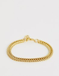 Seven London Panther Chain Bracelet In Gold