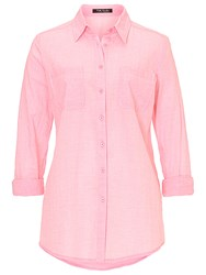 Betty Barclay Long Cotton Blouse Pale Pink